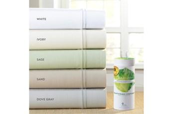 Premium Bamboo Dove Gray Split California King Sheet Set