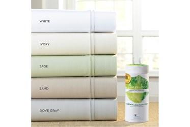 Premium Bamboo Dove Gray Split King Sheet Set