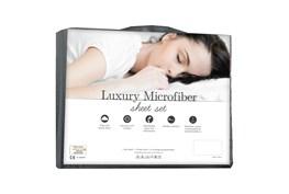 Luxury Microfiber Dove Gray King Sheet Set