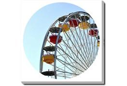 36X36 Ferris Wheel With Gallery Wrap Canvas