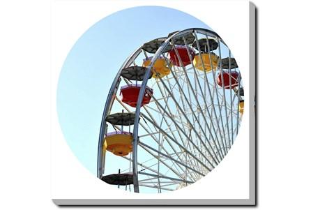 36X36 Ferris Wheel With Gallery Wrap Canvas - Main