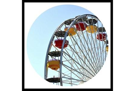 26X26 Ferris Wheel With Black Frame - Main