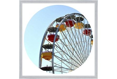 26X26 Ferris Wheel With Silver Frame - Main