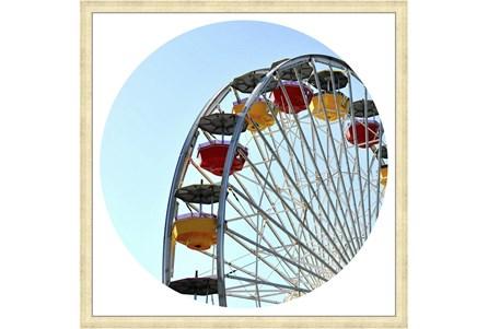 26X26 Ferris Wheel With Champagne Frame - Main
