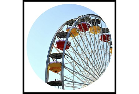 38X38 Ferris Wheel With Black Frame - Main
