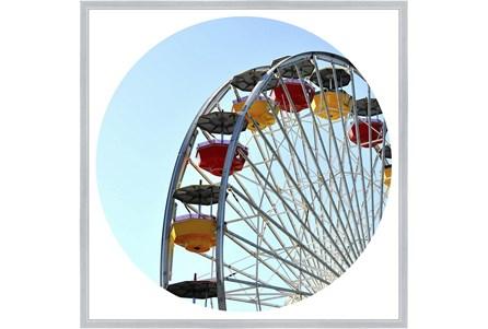 38X38 Ferris Wheel With Silver Frame - Main