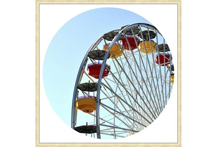 38X38 Ferris Wheel With Champagne Frame - Main