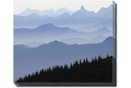 24X20 Blue Ridge With Gallery Wrap Canvas