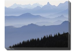 40X30 Blue Ridge With Gallery Wrap Canvas