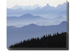 50X40 Blue Ridge With Gallery Wrap Canvas