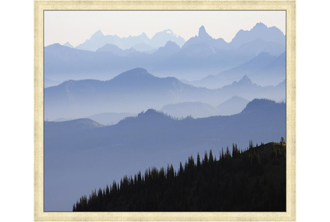 26X22 Blue Ridge With Champagne Frame  - 360