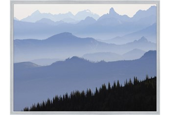 32X42 Blue Ridge With Silver Frame