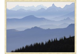 42X32 Blue Ridge With Champagne Frame