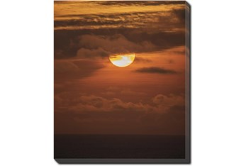 20X24 Sky Sunset With Gallery Wrap Canvas