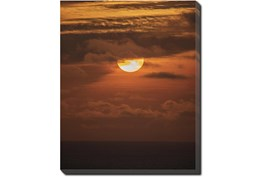 40X50 Sky Sunset With Gallery Wrap Canvas
