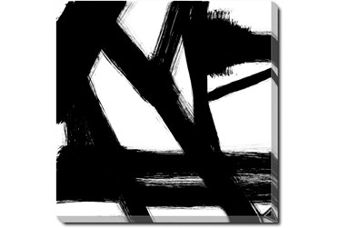 24X24 Building Bridges 1 With Gallery Wrap Canvas