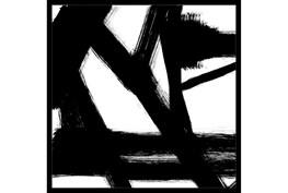 26X26 Building Bridges 1 With Black Frame