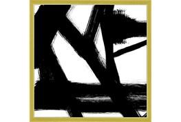 26X26 Building Bridges 1 With Gold Frame