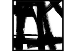 26X26 Building Bridges 2 With Black Frame