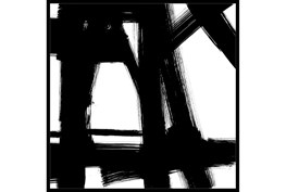 38X38 Building Bridges 2 With Black Frame
