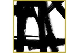 38X38 Building Bridges 2 With Gold Frame