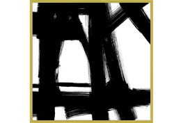 47X47 Building Bridges 2 With Gold Frame