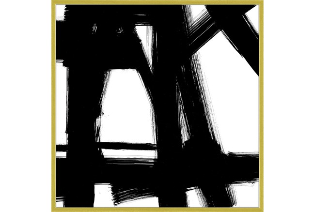 47X47 Building Bridges 2 With Gold Frame - 360