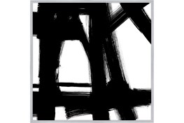47X47 Building Bridges 2 With Silver Frame