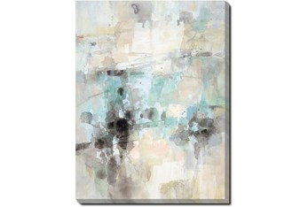 30X40 Abstract Bright Day Coming With Gallery Wrap Canvas
