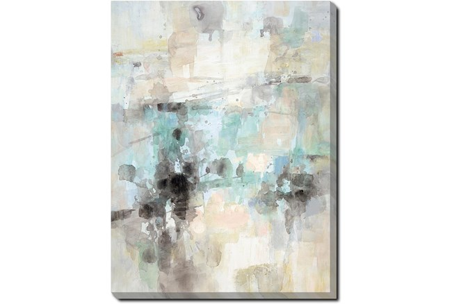 30X40 Abstract Bright Day Coming With Gallery Wrap Canvas - 360