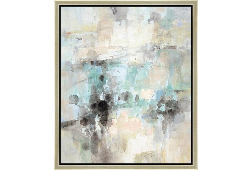 22X26 Abstract Bright Day Coming With Champagne Frame