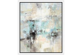 22X26 Abstract Bright Day Coming With White Frame