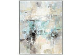 42X52 Abstract Bright Day Coming With Silver Frame