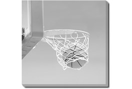 36X36 He Shoots - He Scores 3 With Gallery Wrap Canvas