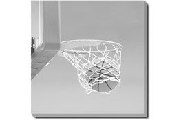 45X45 He Shoots - He Scores 3 With Gallery Wrap Canvas