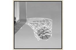 26X26 He Shoots - He Scores 3 With Birch Frame