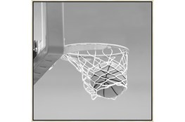 47X47 He Shoots - He Scores 3 With Birch Frame