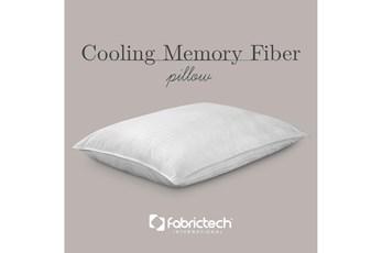 Pure Care Cooling Memory Fiber Standard Pillow