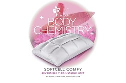 Pure Care Body Chemistry Softcell Comfy Queen Pillow
