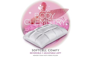 Pure Care Body Chemistry Softcell Comfy King Pillow