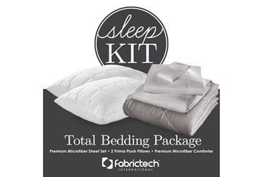 Pure Care Sleep Kit California KingDove Gray