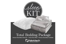 Pure Care Sleep Kit Twin Xl Dove Gray