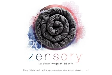 """Pure Care Zensory 20Lb Weighted Blanket 48"""" X 72"""""""
