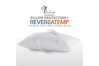 Pure Care Reversatemp Queen Pillow Protector