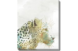 20X24 Jungle Friends Leopard With Gallery Wrap Canvas