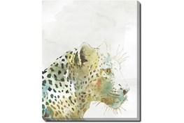 40X50 Jungle Friends Leopard With Gallery Wrap Canvas