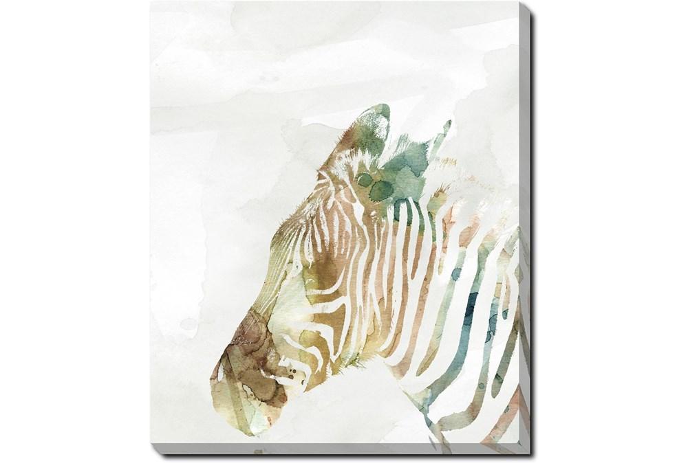 20X24 Jungle Friends Zebra With Gallery Wrap Canvas