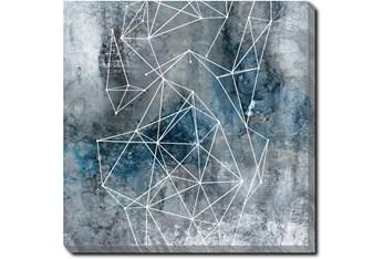 24X24 Galaxy Print With Gallery Wrap Canvas