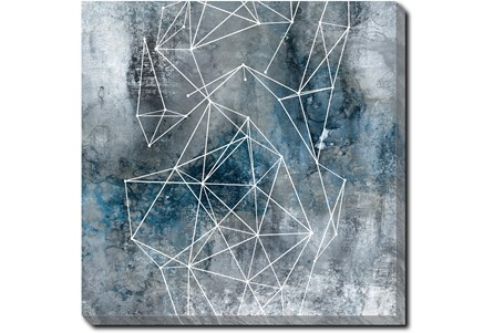 45X45 Galaxy Print With Gallery Wrap Canvas - Main