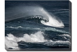 40X30 Deep Wave With Gallery Wrap Canvas